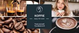 foto's van koffie